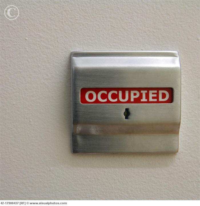 Occupied for Occupied bathroom sign
